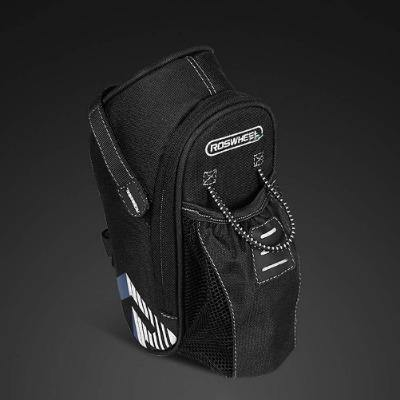 Bicycle Seat Saddle Bag Water Holder with Tail Light - Bicycle and Me
