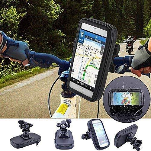 Waterproof Bike/Bicycle Mobile Phone Holder Stand Case Cycling Bicycle Bracket Anti-Slip (for 4 inch to 6 inch) - Bicycle and Me