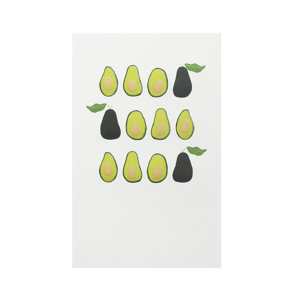 Avocados in a Row