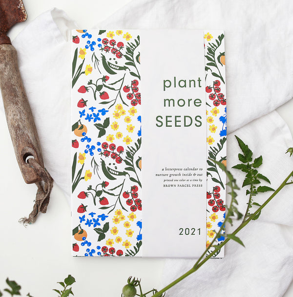 2021 Calendar: Plant More Seeds With Skeleton Clip