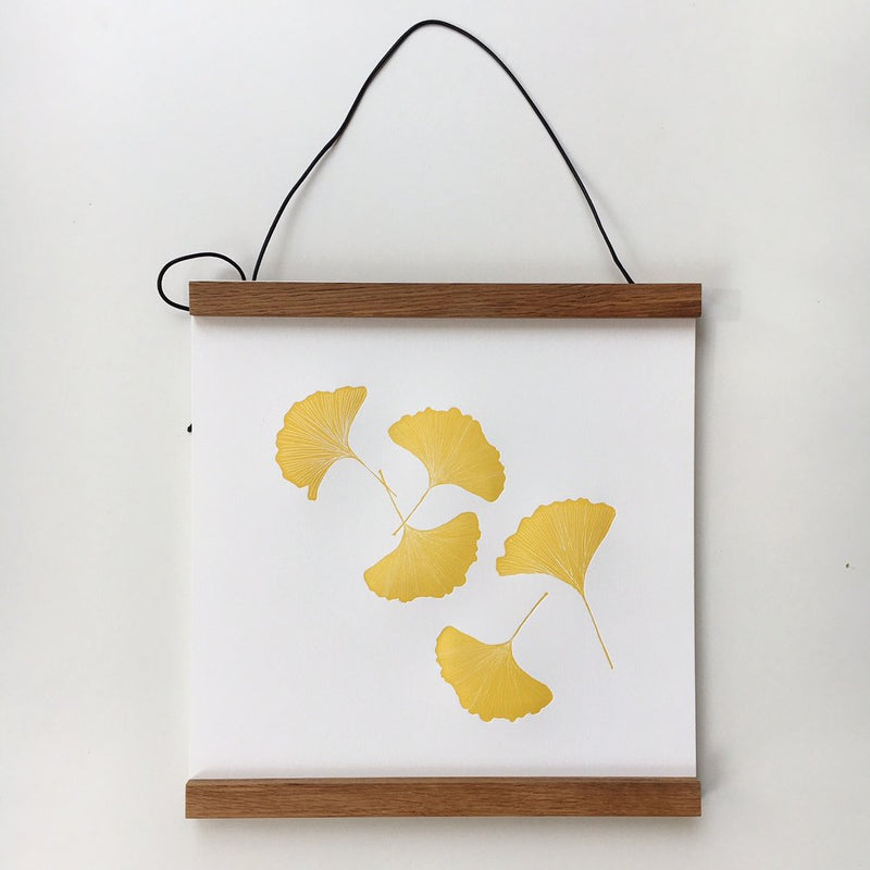 Golden Gingko Leaves