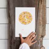 2021 Calendar: Plant More Seeds With Wooden Display Base