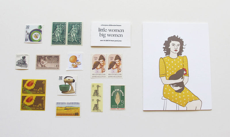 Little Women Big Women Card Set