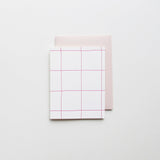 Pink Windowpane Plaid