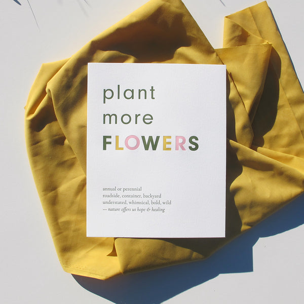 Plant More Flowers