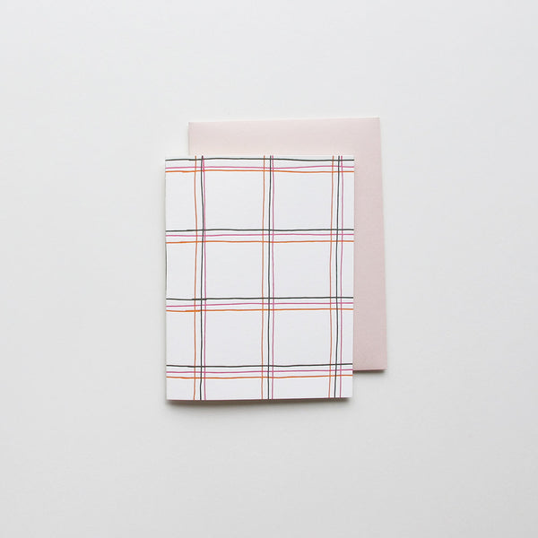 Pop Windowpane Plaid