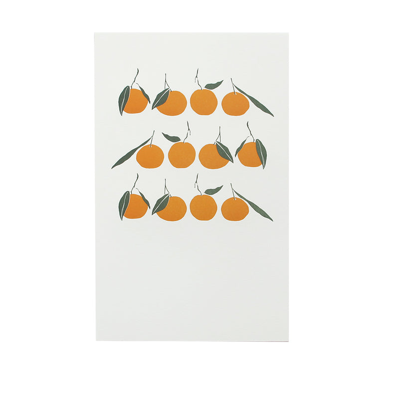 Satsumas in a Row