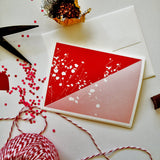 Geometric Floral Card Set