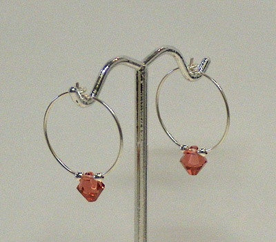 Swarovski Crystal Hoops - Lively Accents