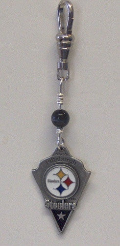 Pittsburgh Steelers Zipper Pull/Purse Charm
