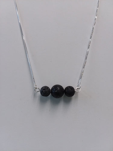 Trio diffuser/aromatherapy necklace - Lively Accents