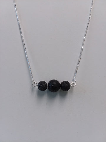 Trio diffuser/aromatherapy necklace
