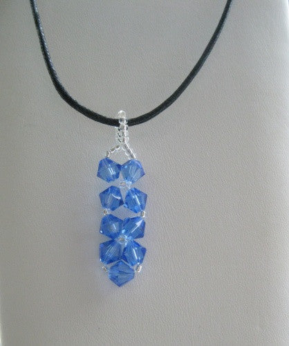 Woven Swarovski Pendant - Lively Accents