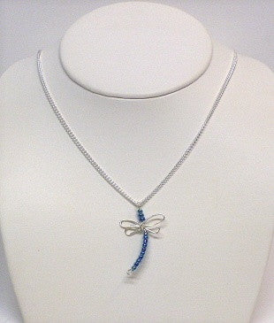 Sterling Silver Wire Dragonfly -