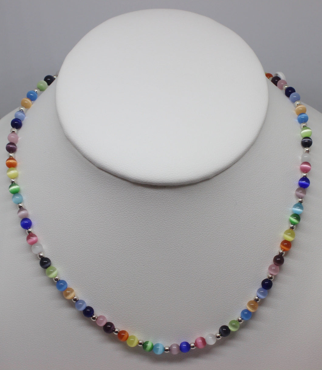 Multi Colored Fiber Optic Necklace - Lively Accents