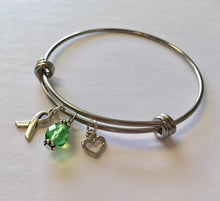 Load image into Gallery viewer, Celiac Disease Awareness Bangle - Lively Accents