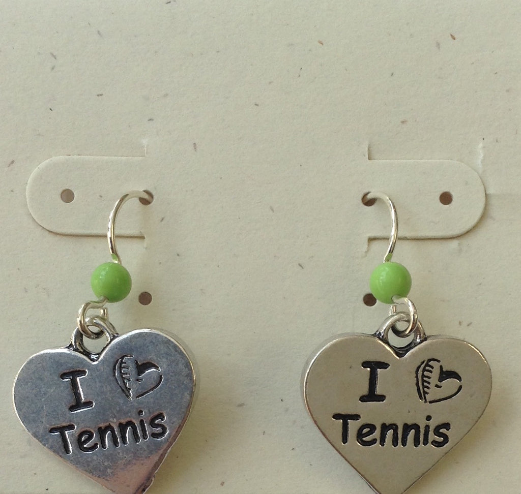 Tennis earrings - Lively Accents