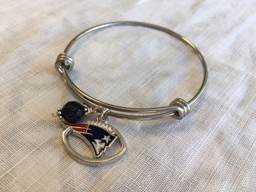 New England Patriots Expandable bangle - Lively Accents