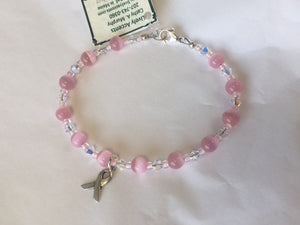 Breast Cancer Bracelet - Lively Accents