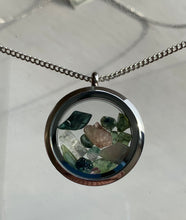 Load image into Gallery viewer, Maine Tourmaline Locket Necklace - Lively Accents