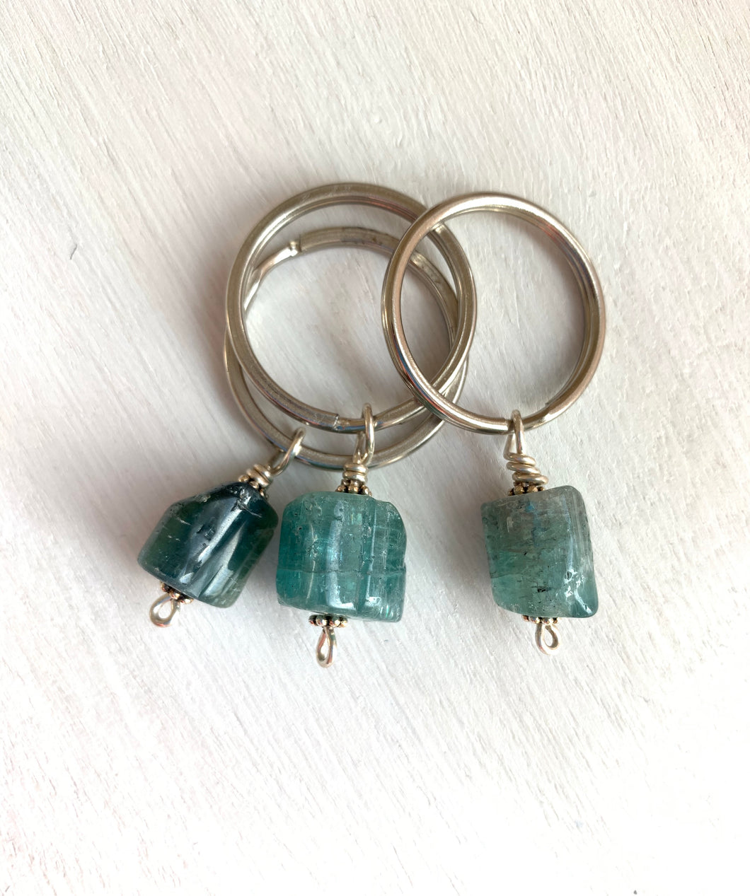 Maine tourmaline keychains - Lively Accents
