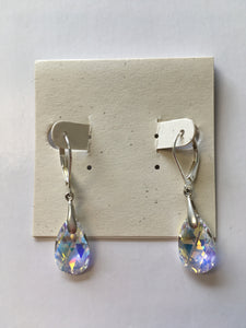 Swarovski Crystal Teardrop Earrings - Lively Accents