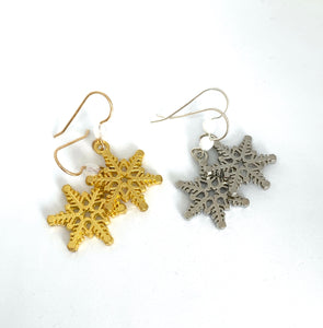 Snowflake Earrings - Lively Accents
