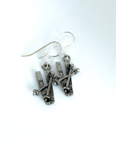 Ski and Pole Earrings - Lively Accents