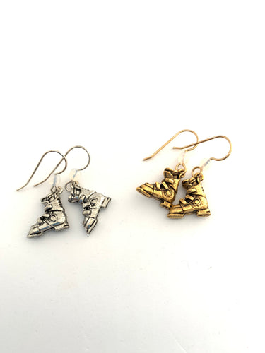 Ski Boot Earrings - Lively Accents