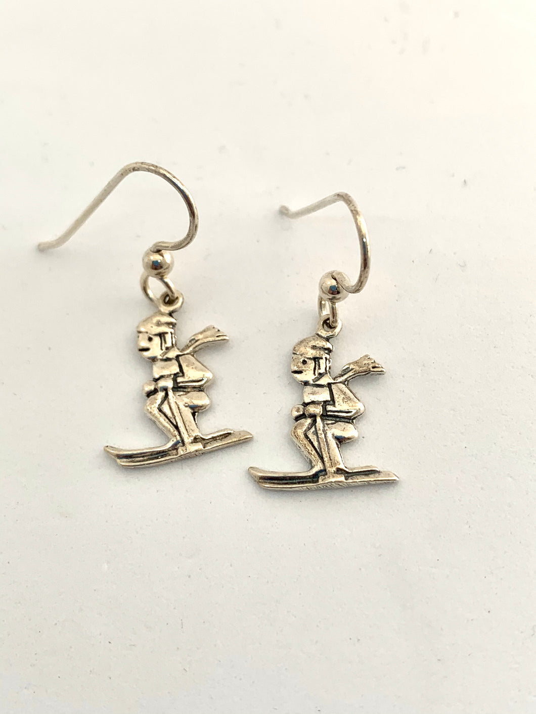 Kid Skier Earrings - Lively Accents
