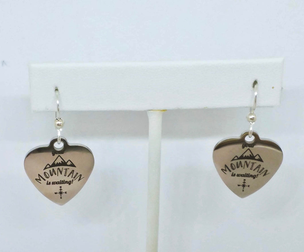 Mountain Earrings - Lively Accents
