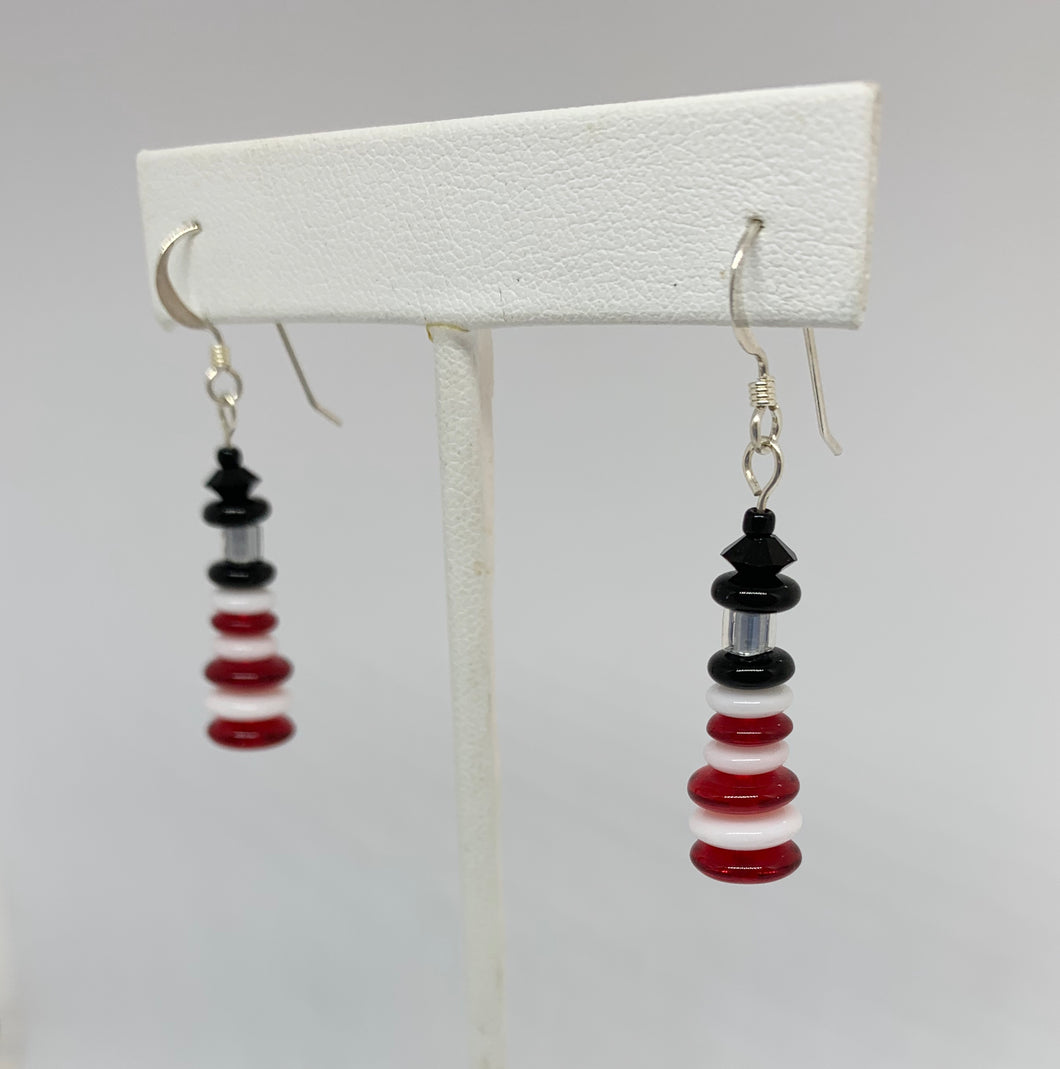 Maine Lighthouse Earrings