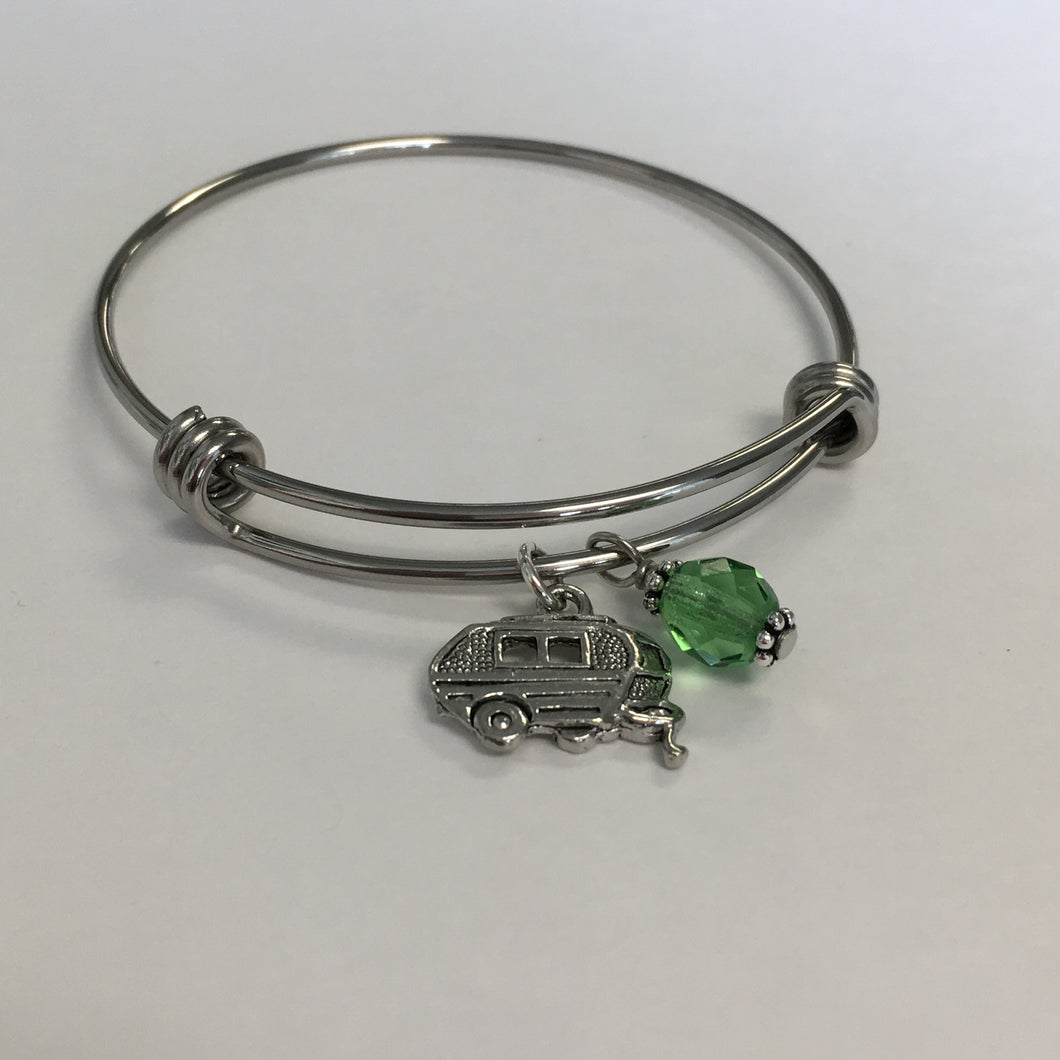 Camper Expandable Bangle - Lively Accents