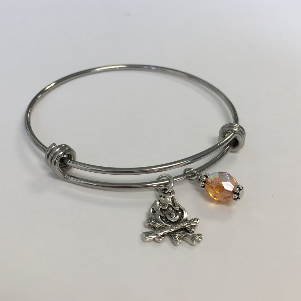 Campfire Expandable Bangle
