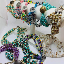 Load image into Gallery viewer, Boho Multi Strand bracelets