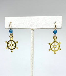 Captain's Wheel Earrings