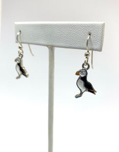 Puffin Earrings