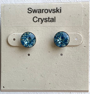 Swarovski Birthstone Small Post Earrings