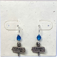 Load image into Gallery viewer, Camp Sign Earrings