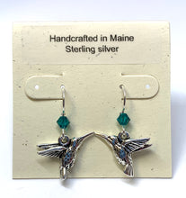Load image into Gallery viewer, Hummingbird Earrings