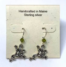 Load image into Gallery viewer, Frog Earrings
