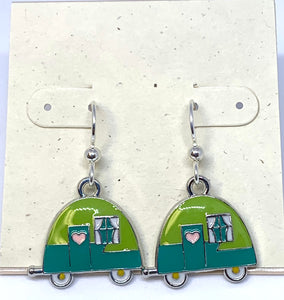 Cute Retro Camper Earrings