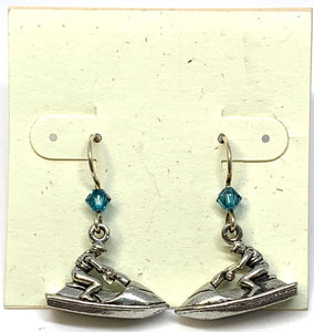 Jet Ski Earrings