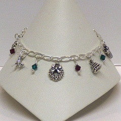Christmas Charm Bracelet - Lively Accents