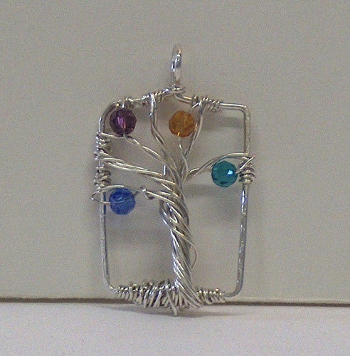 Mother's / Family Tree Pendant