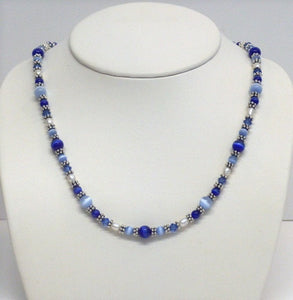 Fiber Optic Heishe Necklace/Set - Lively Accents