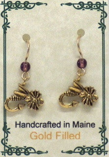 Fishin' Fly Earring - Lively Accents