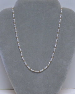 Freshwater Pearl Necklace, Earring  and Bracelet Set - Lively Accents