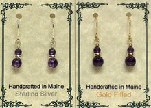 Load image into Gallery viewer, Gemstone Drop Earrings - Lively Accents