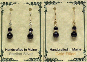 Gemstone Drop Earrings - Lively Accents